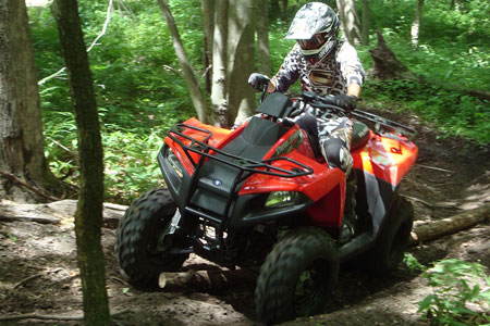 The Trail Boss 330 offers plenty of fun and function for the price.