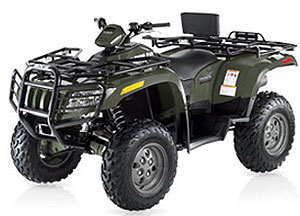 Some alternatives to gas-power like Arctic Cat's diesel-powered ATV exist already.