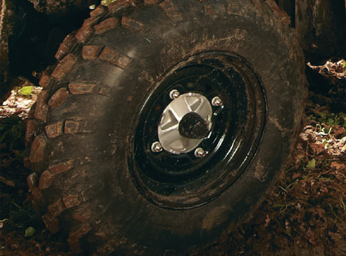 ATV Pre-Ride Checklist - Wheel Lugs