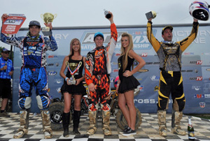 Budds Creek National Pro ATV Podium