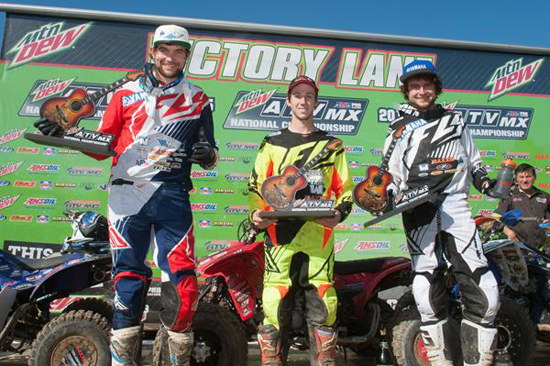 ATV Motocross Podium