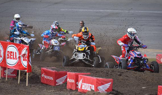 Daytona ATV Supercross Action
