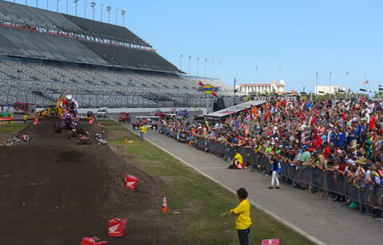 ATV Supercross Action in Daytona