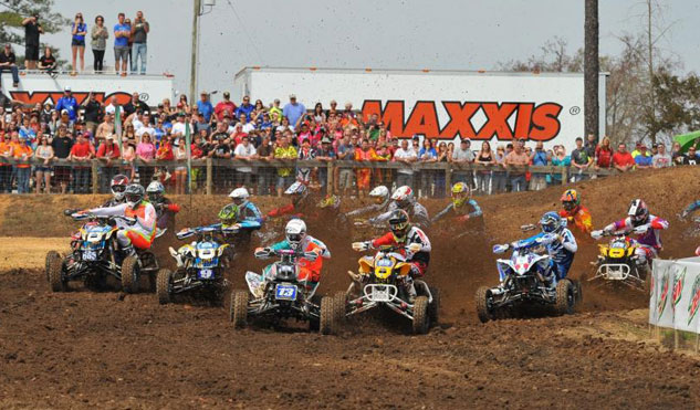 ATVMX Muddy Creek Holeshot