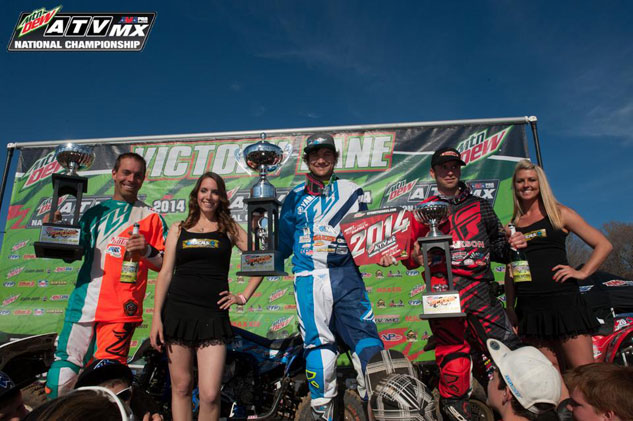 ATVMX Muddy Creek Podium