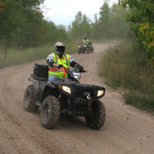 This Polaris-sponsored tour of Oak Ridge, Tenn., is open to riders of ATV brands.