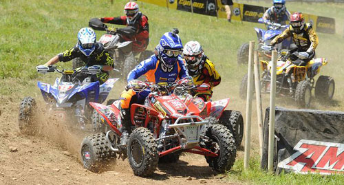 Adam McGill GNCC Holeshot