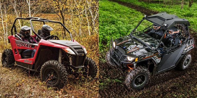 Arctic Cat Wildcat Trail vs. Polaris RZR 800