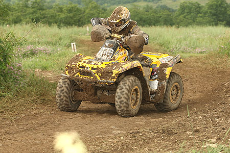 Clifton Beasley has finished on top of the 4x4 Lites class in all nine races in 2008.