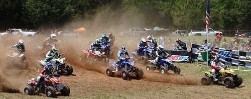 Chris Borich Grabs the Big Buck GNCC Holeshot