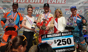 Big Buck GNCC XC1 Podium