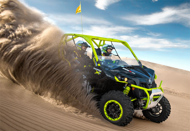 2015 Can-Am Maverick X ds Turbo Dunes