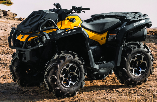 2015 Can-Am Outlander 650 X mr