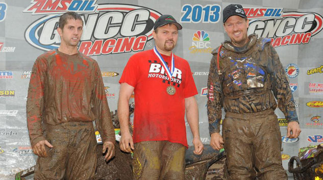 Car-Mate Gusher GNCC 4x4 Podium