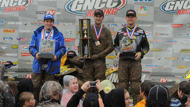 Car-Mate Gusher GNCC XC1 Podium