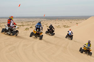 Desert Group Ride