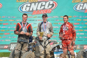 Mountaineer Run GNCC Pro Am Podium