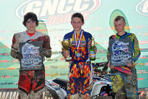 John Penton GNCC Youth Podium