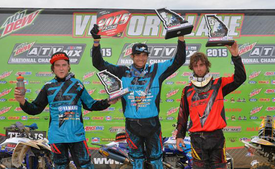 Georgia National MX Podium