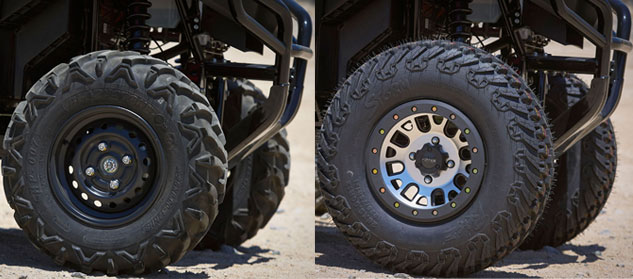 Honda Pioneer Before and After