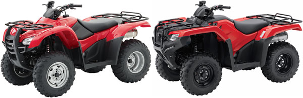 2014 Honda FourTrax Rancher and Foreman Preview - ATV.com