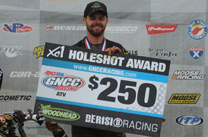 Jeff Pickens Holeshot Award