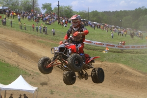 Joe Byrd bested the field in moto two and took the overall win.