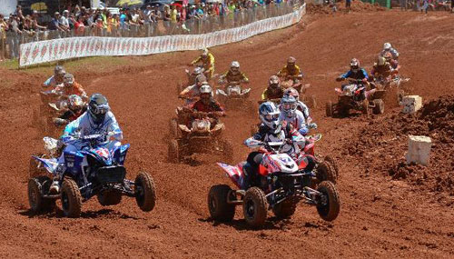 Joe Byrd Wins ATVMX Holeshot