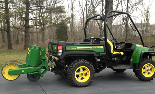 UTV Hitchworks John Deere Gator with Planter