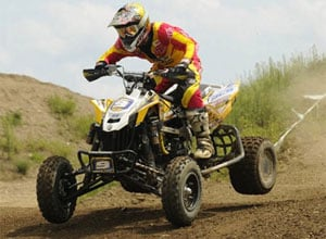 Josh Creamer Riding a Can-Am DS 450