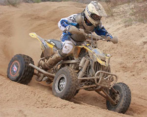 Josh Frederick ATV Racing WORCS