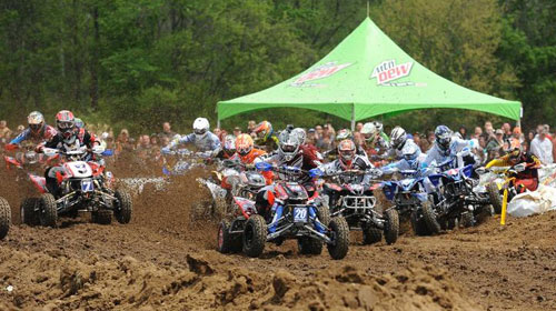 Wildcat Creek MX Holeshot