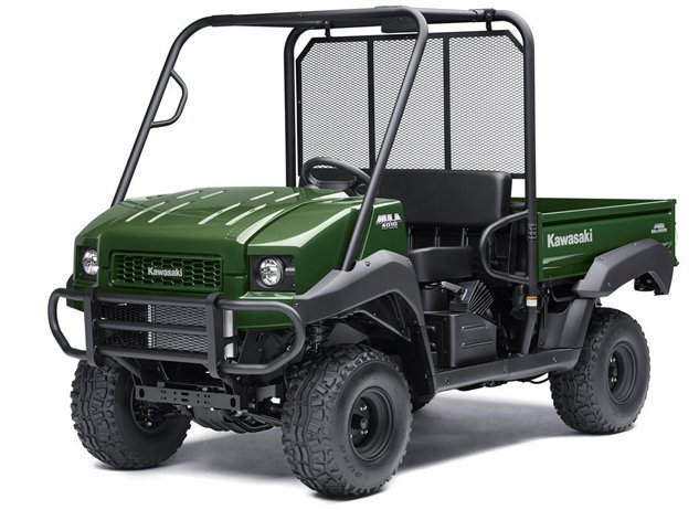 Kawasaki Mule 4000 and 4010 4x4