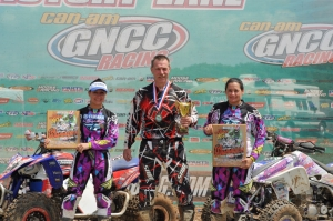 Traci Cecco, Dave Simmons and Lexie Coulter