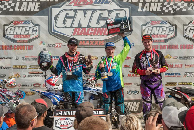Mountain Ridge GNCC XC1 Podium
