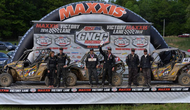 Mountaineer Run GNCC UTV Podium