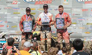 Mountaineer Run GNCC XC2 Podium