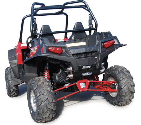 Polaris Ranger RZR XP 900 Muzzy Dual Exhaust