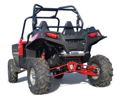 Polaris Ranger RZR XP 900 Muzzy Slip-on Exhaust