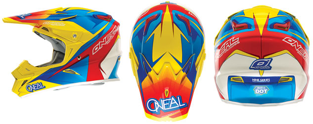 O'Neal Racing 9 Series Helmet