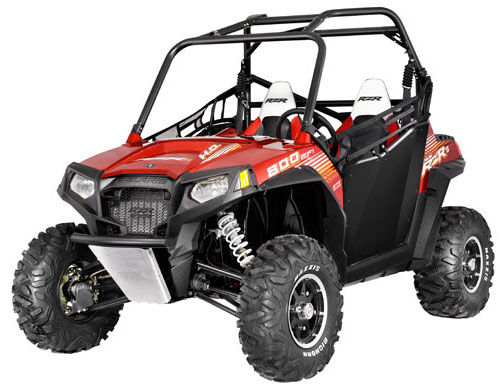 Polaris RZR S 800 Sunset Red EPS LE