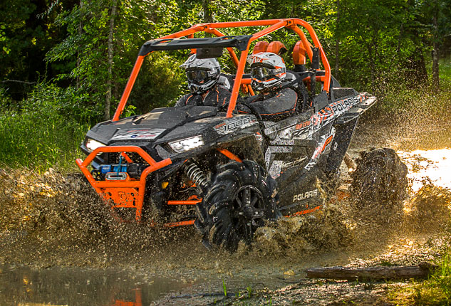 2015 Polaris RZR XP 1000 High Lifter Edition Action