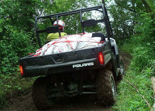 Polaris Ranger HD 800 with Full Bed