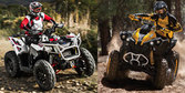 2014 Can-Am Renegade 1000 vs. Polaris Scrambler 1000 - Specs Shootout