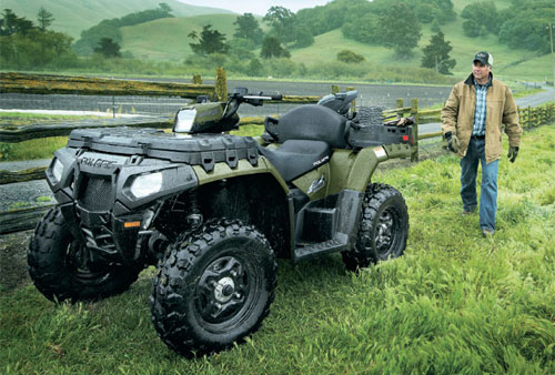 Choosing A Work Vehicle Atv Vs Utv Atv Com