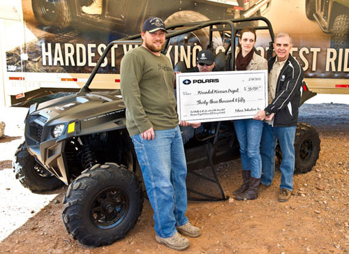 Polaris Wounded Warriors Project