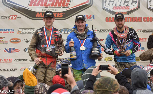 ITP Powerline Park GNCC XC1 Podium