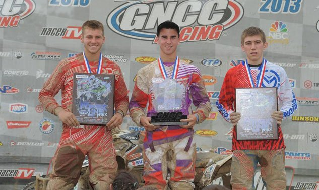 Powerline Park GNCC XC2 Podium