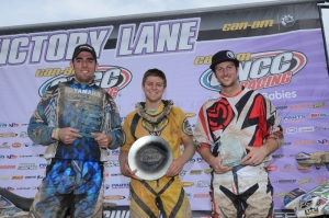 Pro Am Podium Steele Creek GNCC
