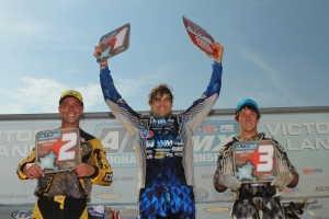 AMA ATV Motocross Podium